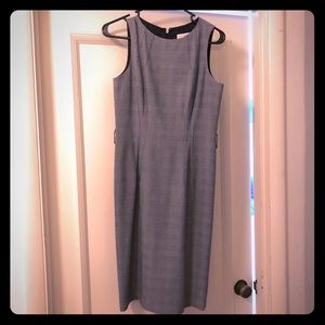 Michael Kors gray sleeveless dress